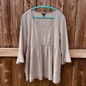 Torrid knit babydoll shirt